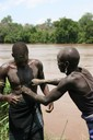 Clay ceremony to rid the Omo River of disease