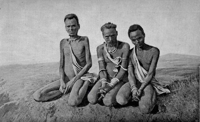 Men's traditional bark cloth