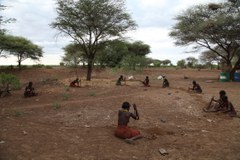Daasanach Women Building  Investor's Cattle Kraal